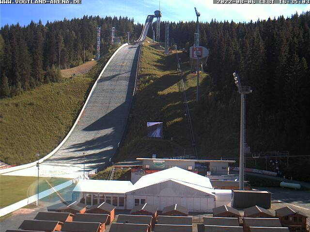 Webcam Sprungschanze Klingenthal